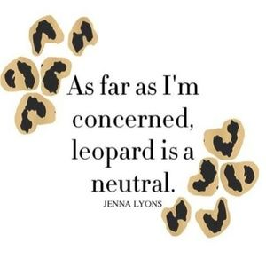 Other - Consider Leopard print as a Neutral
